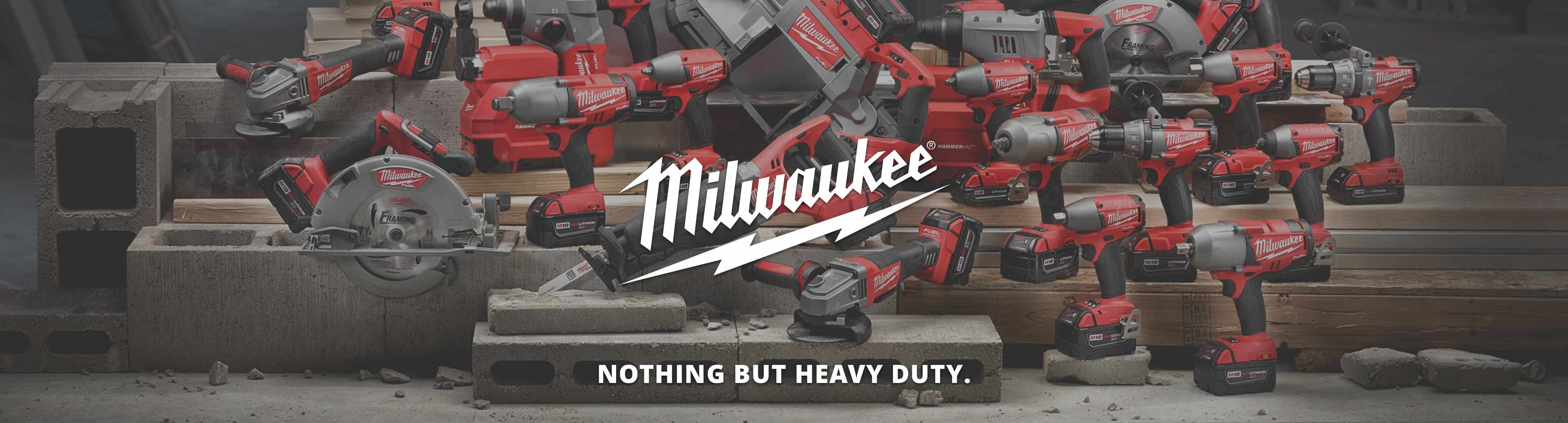 Shop Milwaukee power tools from Rex Hardware