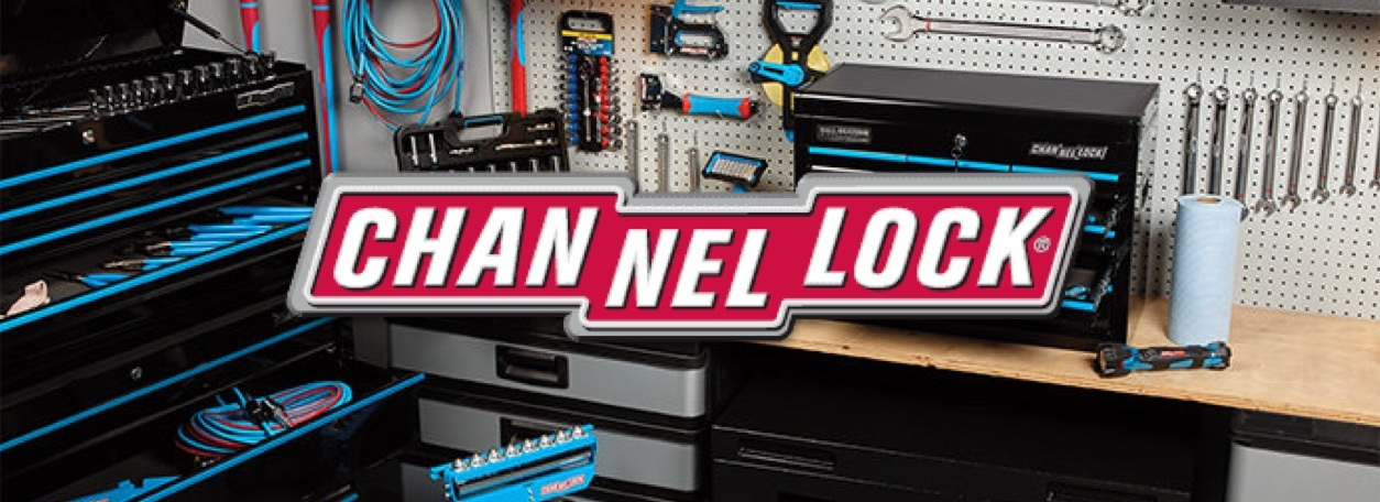 Channellock logo with tool set