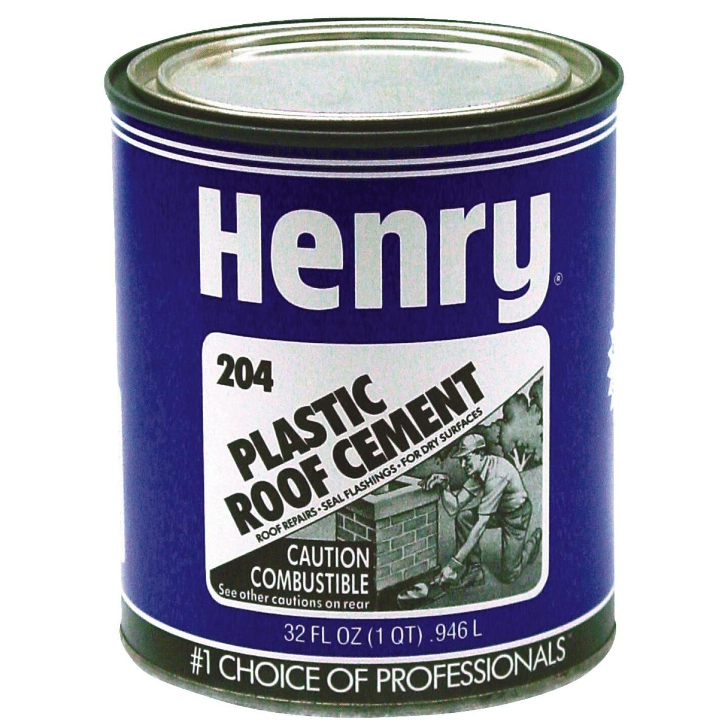 Henry 30 Oz. Plastic Roof Cement and Patching Sealant Image 1