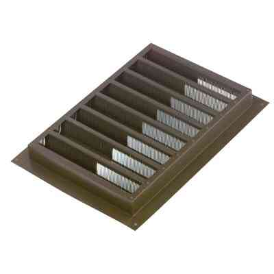 "NorWesco 12"" x 12"" Square Mill Gable Attic Vent"