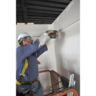 Donn 12 Ft. x 7/8 in. White Steel Ceiling Wall Molding Image 3