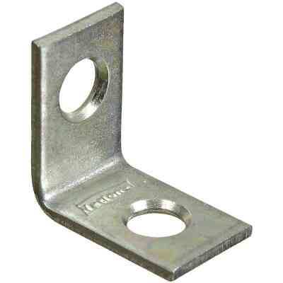 National Catalog V115 3/4 In. x 1/2 In. Zinc Steel Corner Brace (4-Count)