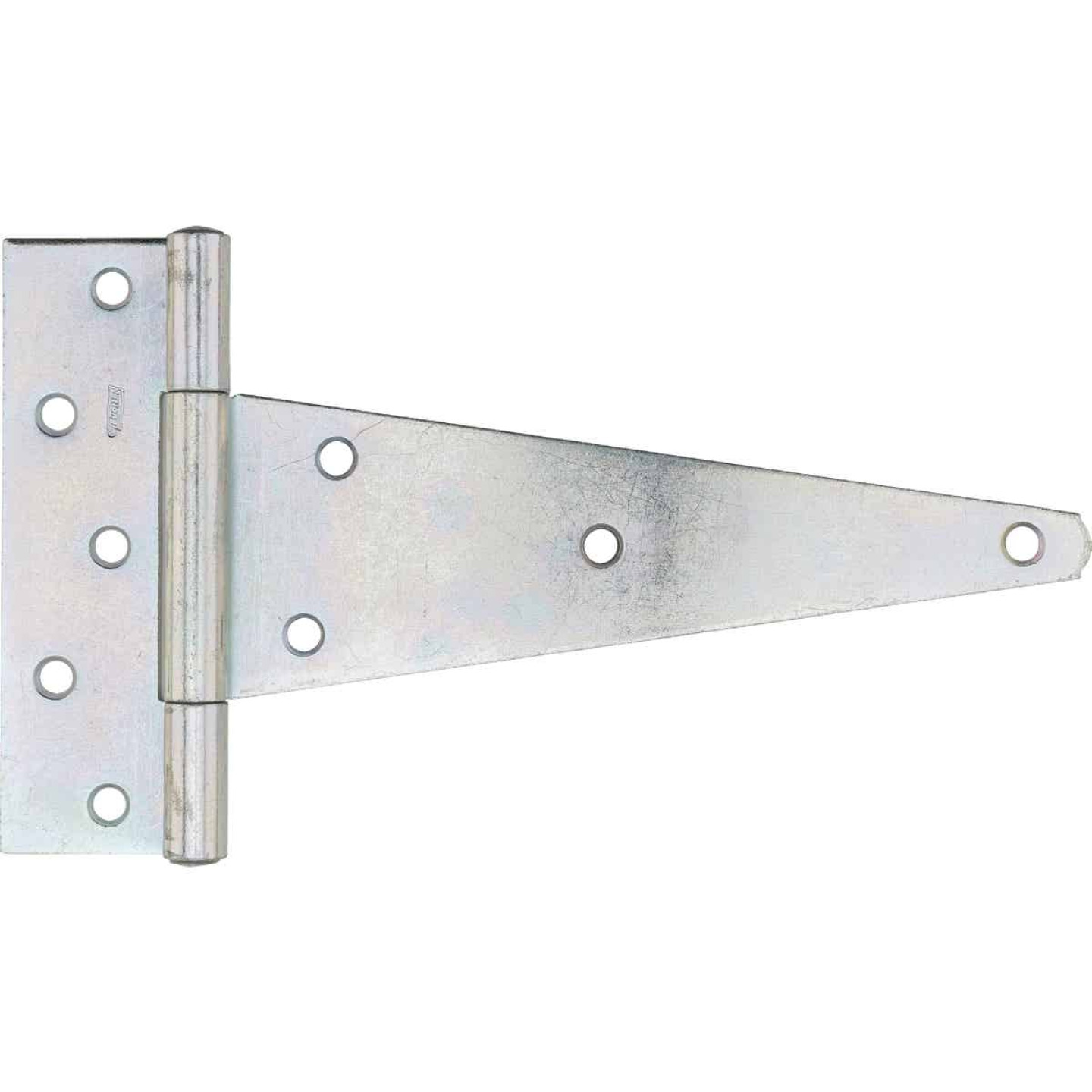 National 10 In. Zinc-Plated Steel Heavy-Duty Tee Hinge Image 1