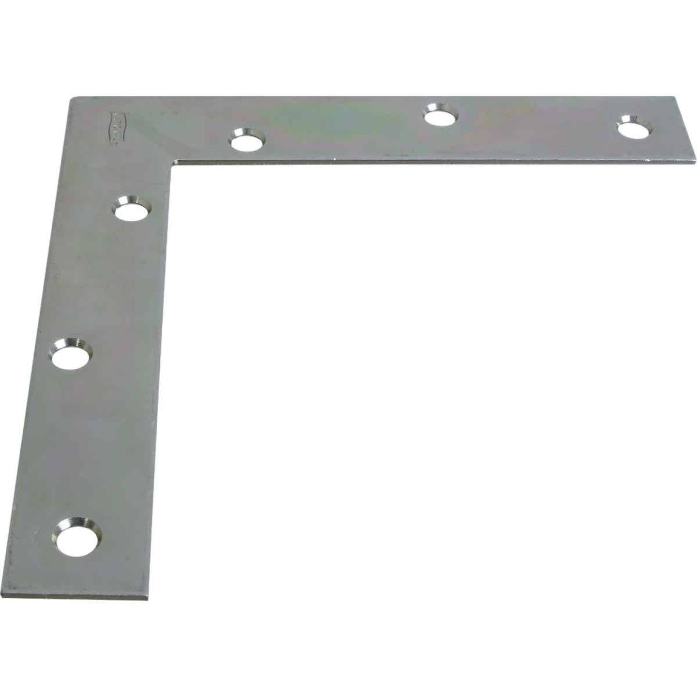 National Catalog 117 6 In. x 1 In. Zinc Flat Corner Iron Image 1