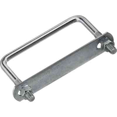 National 3/8 In. x 4 In. x 3 In. Zinc Square U Bolt
