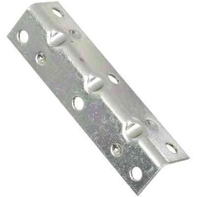 National Catalog V113 Series 3-1/2 In. x 3/4 In. Zinc Corner Brace (4-Count)