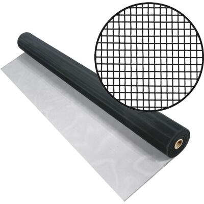Phifer 48 In. x 100 Ft. Charcoal Aluminum Screen