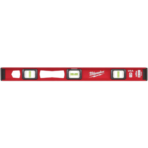 Milwaukee 24 In. Aluminum Magnetic I-Beam Level