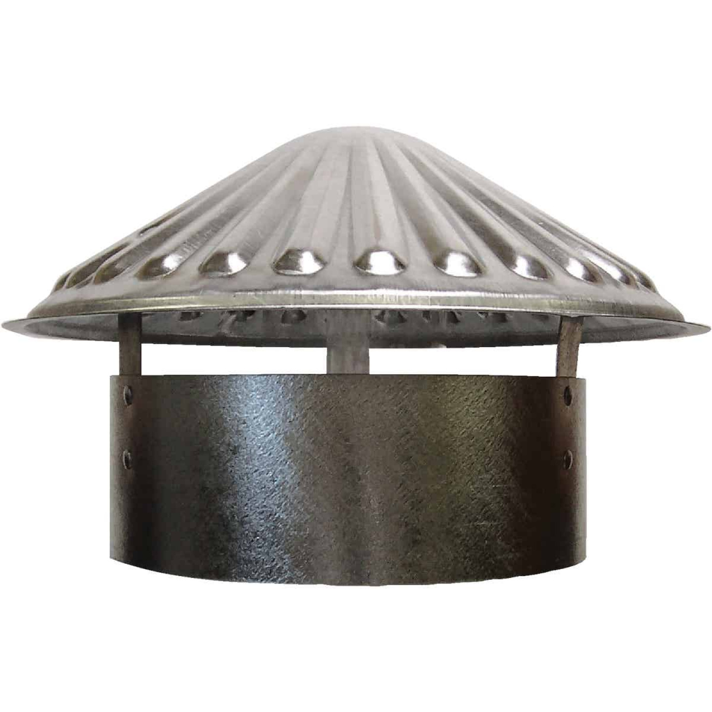 S & K Galvanized Steel 8 In. x 11 In. Vent Pipe Cap Image 1