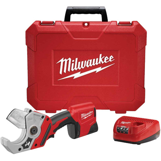 Milwaukee M12 Lithium-Ion Plastic Pipe Cordless Shear Kit