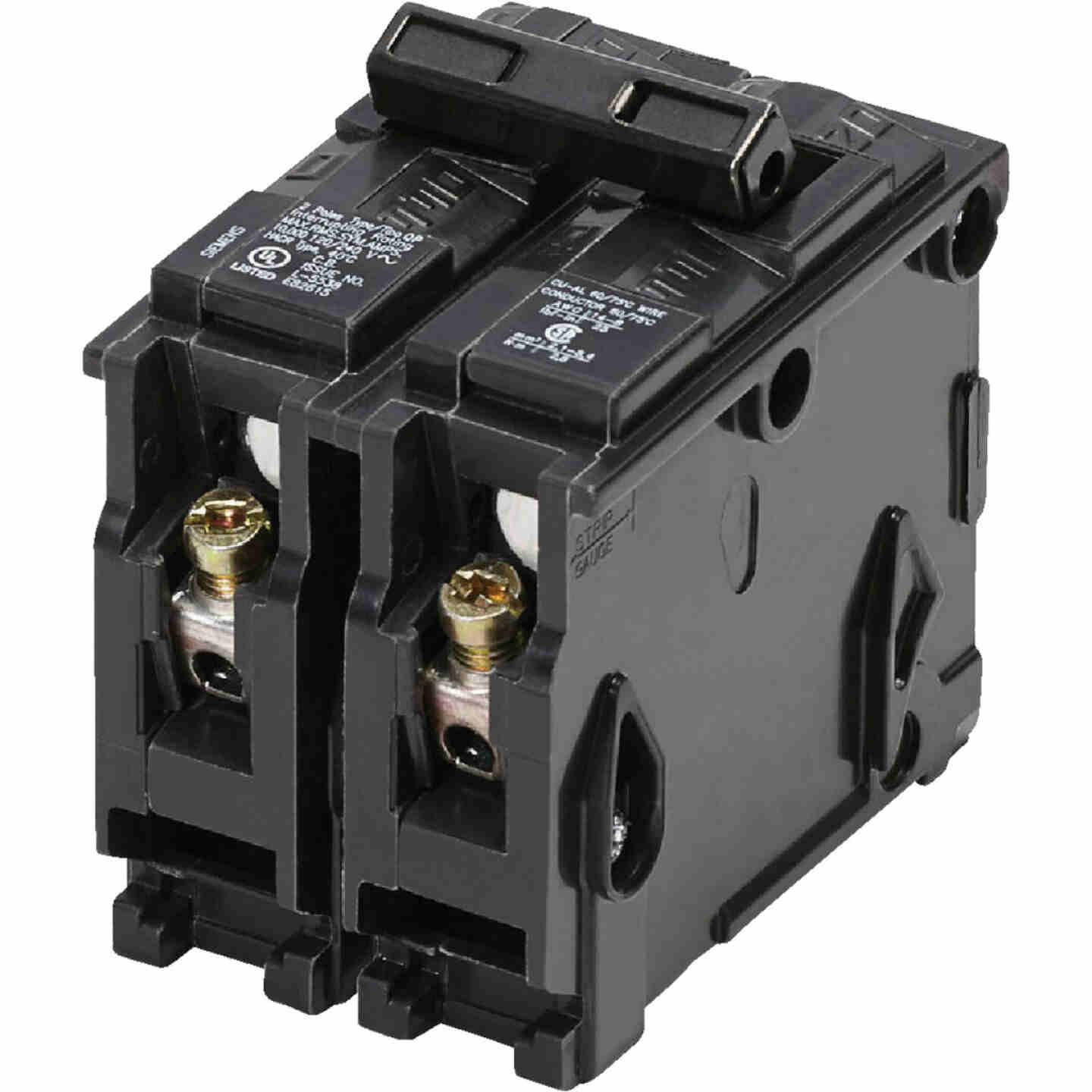 Connecticut Electric 20A Double-Pole Standard Trip Interchangeable Packaged Circuit Breaker Image 1
