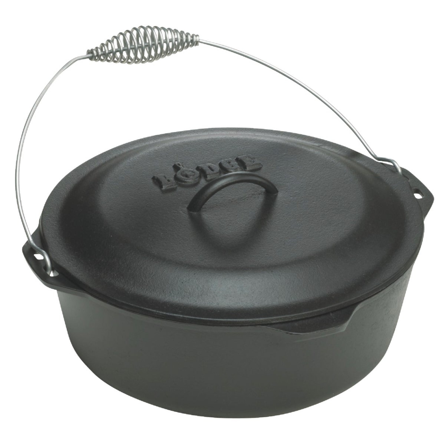 Lodge 5 Qt. Dutch Oven With Iron Cover Image 1