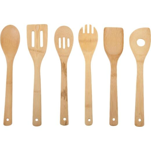 Core Kitchen Bamboo Utensil Set (6 Piece)