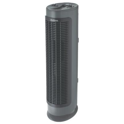 Holmes HEPA 180 Sq. Ft. Black Tower Air Purifier