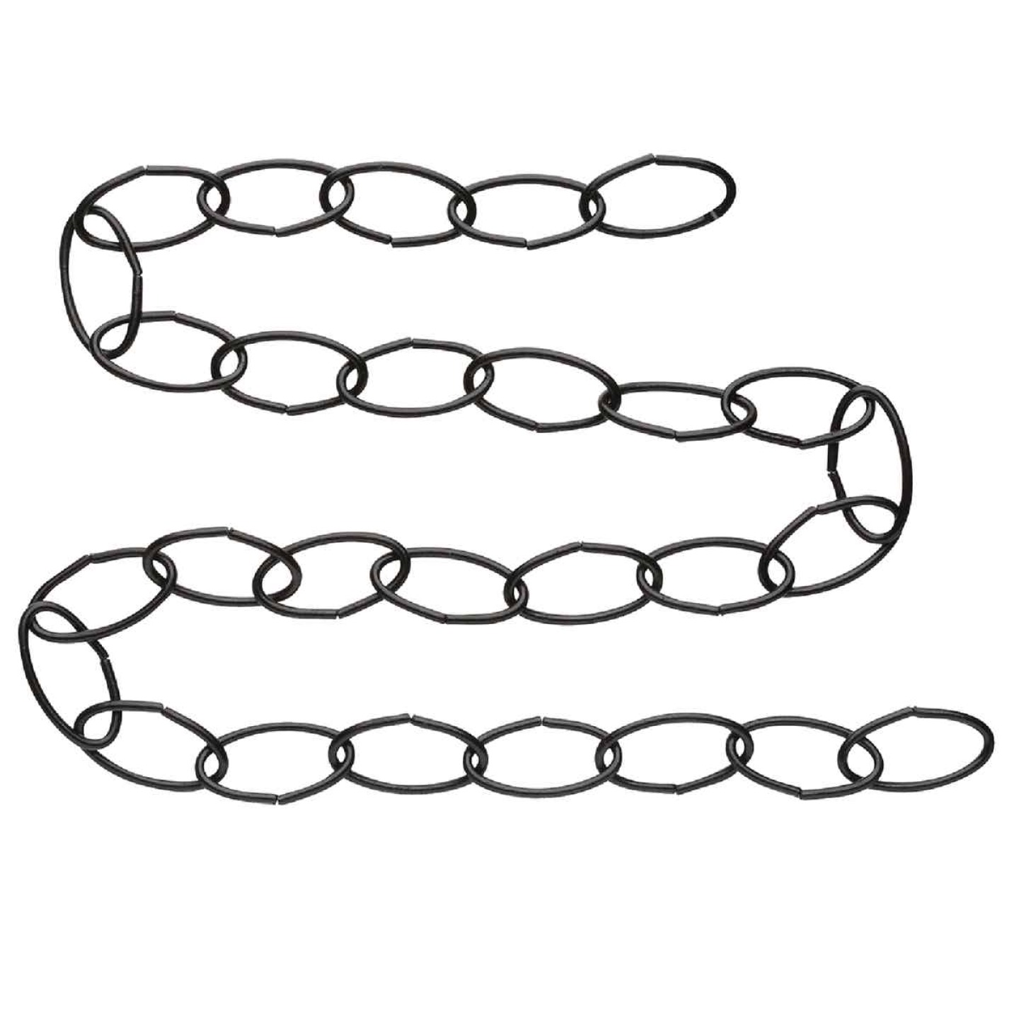 National 36 In. Black Metal Hanging Plant Extension Chain Image 3