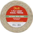 Do it 1-Ply x 2500 Ft. Tan Sisal Fiber Twine Image 1