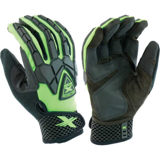West Chester Protective Gear Extreme Work Strike ProteX Men's Large Synthetic Leather Work Glove